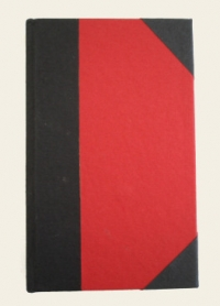 Vintage Notebook (red/black)