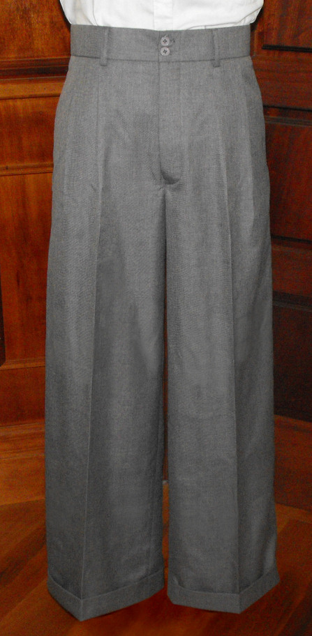 Men's Vintage Pants, Trousers, Jeans, Overalls  Oxford Bags AUD 175.00 AT vintagedancer.com