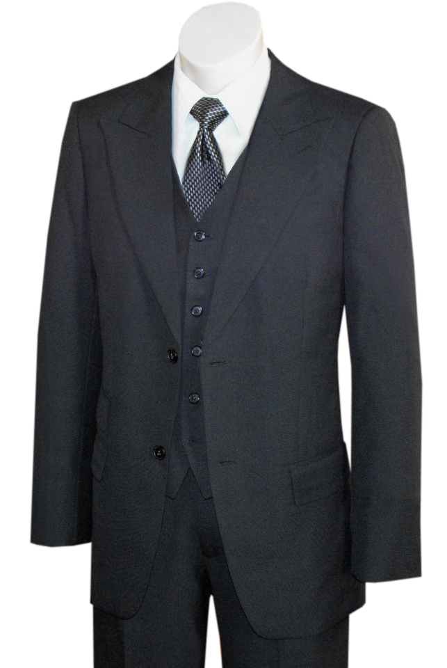 1940s Mens Suits | Gangster, Mobster, Zoot Suits Spectre Suit AUD 735.00 AT vintagedancer.com