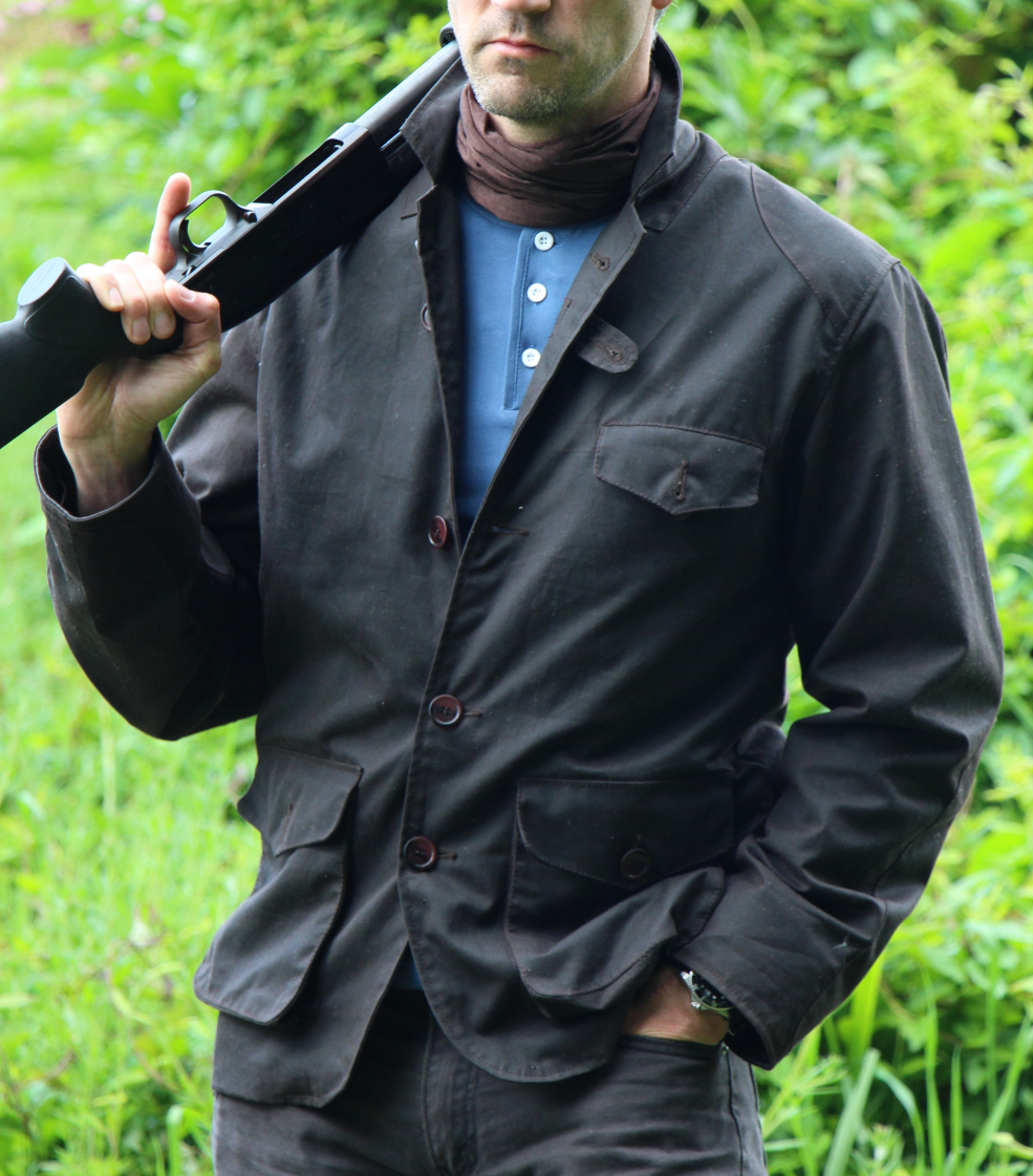 Skyfall Waxed Jacket