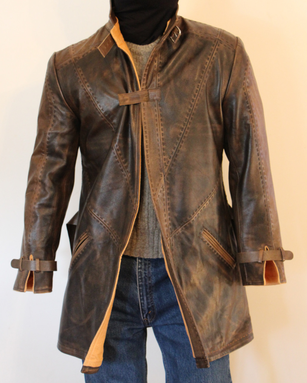 Watch Dogs Leather Jacket