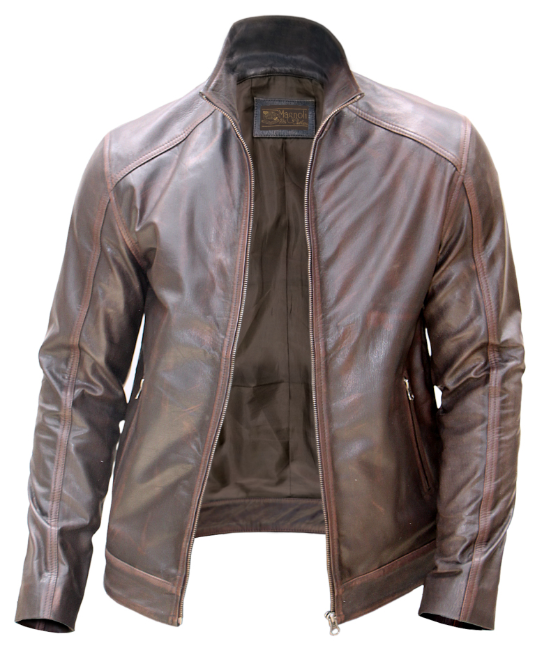 Bourne Leather Jacket