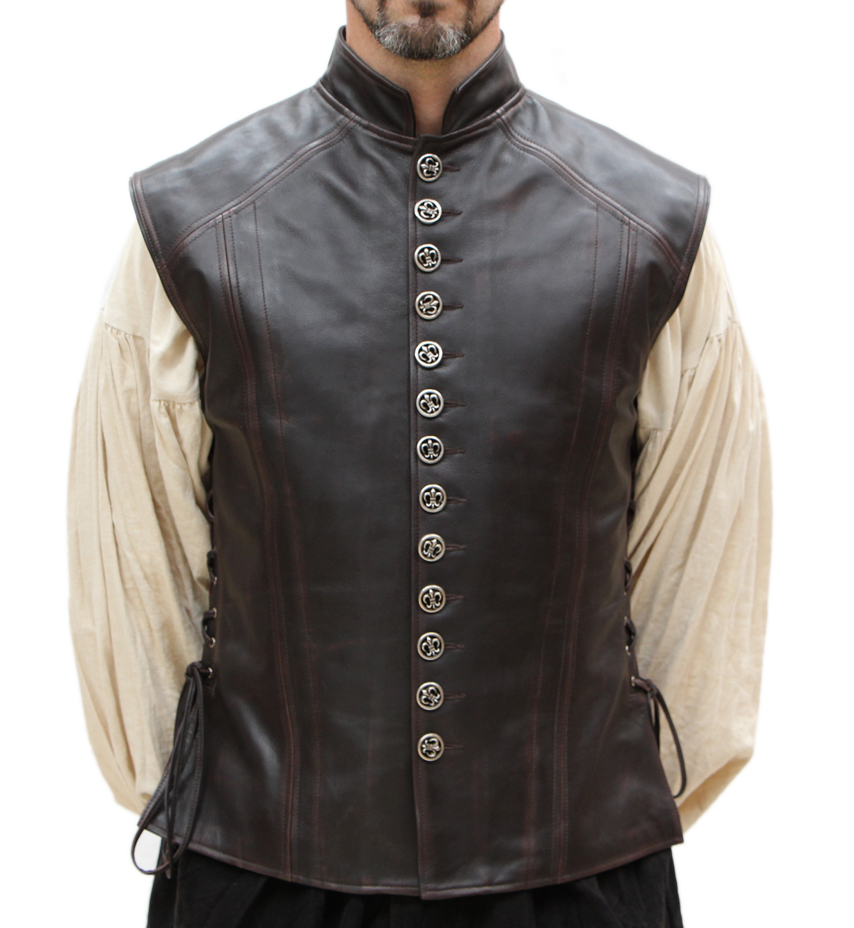 Renaissance Leather Vest