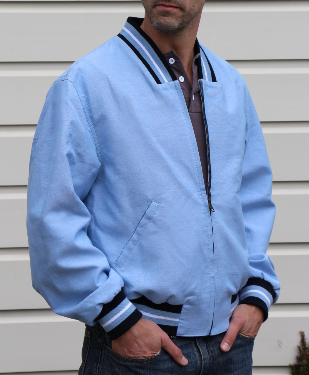 Chambray Jacket Large (Overstock)