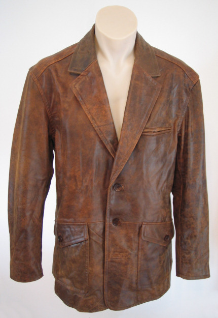 Houston Leather Blazer