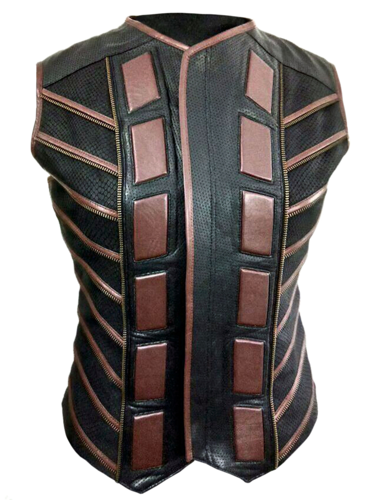 Boone Leather Vest