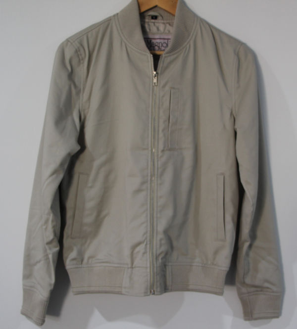 Baby Driver Jacket Light Grey (Overstock)