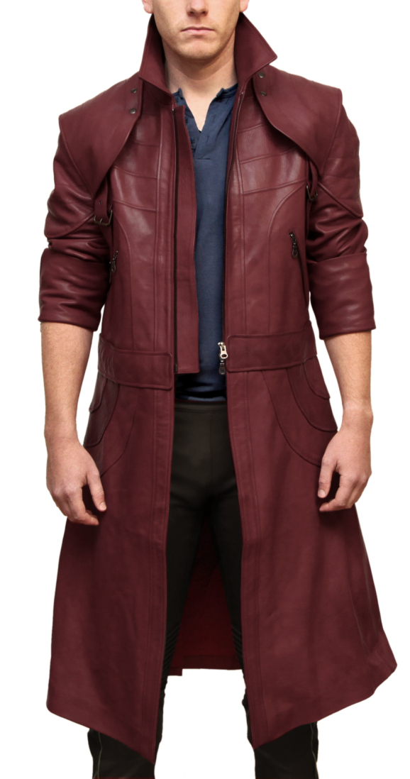 Dante Leather Coat