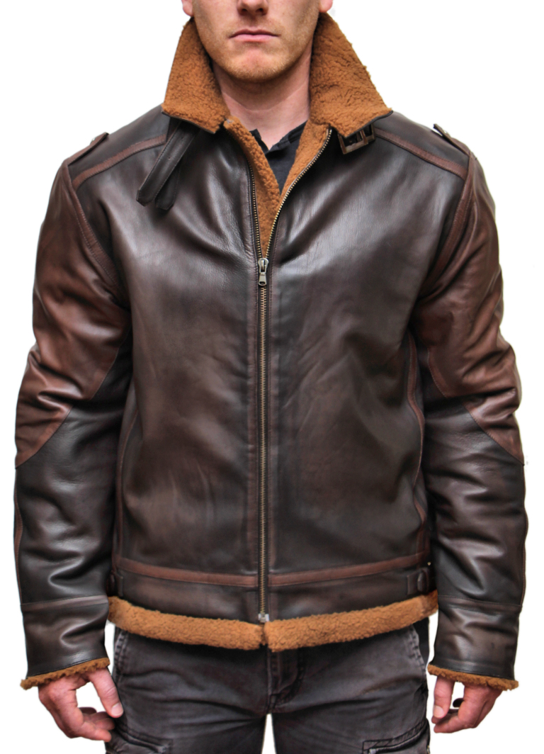 Connor B-3 Leather Jacket