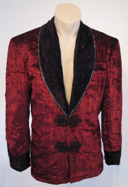 Velvet Smoking Jacket