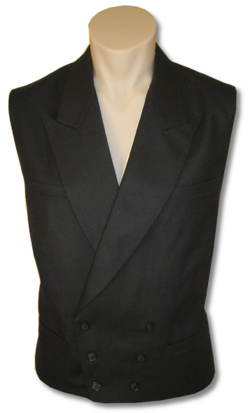 Fairbanks Peaked-Lapel Vest