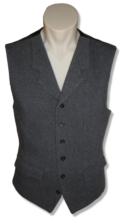 Notched-Lapel Vest