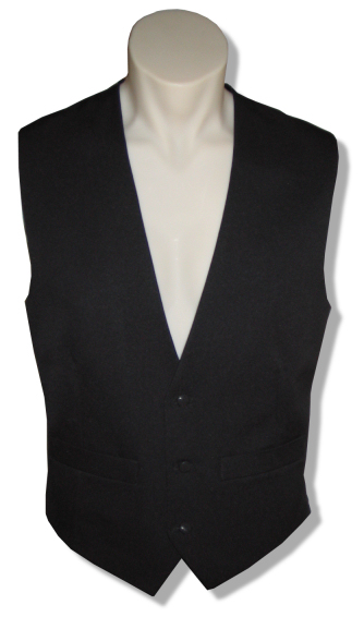 Single-Breasted Tuxedo Vest