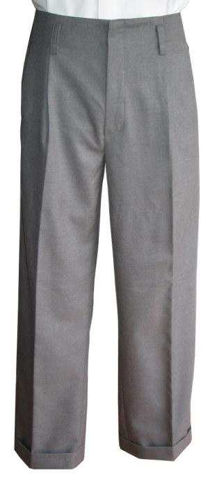 1950s Men's Clothing Hollywood Pants AUD 205.00 AT vintagedancer.com