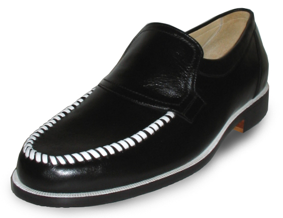 Moccasin-Toed Loafers
