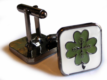 Four-Leaf Clover Cufflinks
