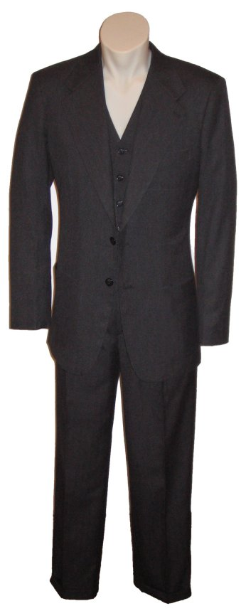 Men's Vintage Style Suits, Classic Suits Chinatown Suit 1930s AUD 735.00 AT vintagedancer.com