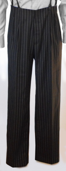 Edwardian Men's Pants, Trousers, Overalls  Holmes Pants AUD 195.00 AT vintagedancer.com