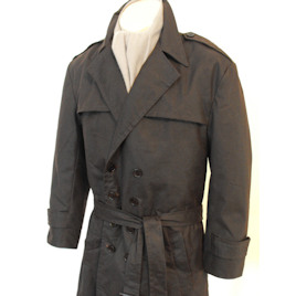 Rorschach Waxed Trenchcoat