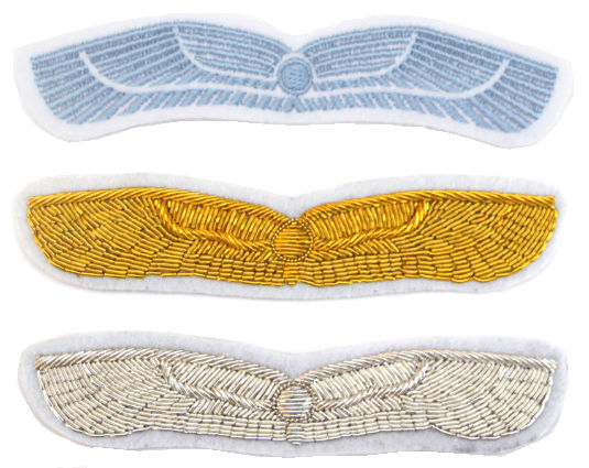 Nostromo Rank Wing Patches