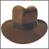 Herbert Johnson Fedora (Sable)