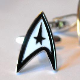 Delta Shield Cufflinks
