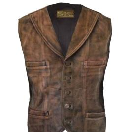 Cullen Leather Vest